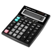Calculadora Mox MO-CM1200 com 12 Digitos - Preto